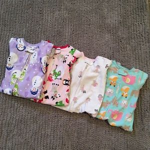 🆕LISTING- Carter's Fleece Footie PJ Bundle